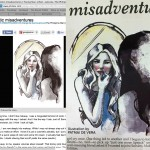 Illustration for Marga Buenaventura's article for Young Star (Phil Star)